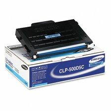 CLP500D5C Laser Print Cartridge, Cyan