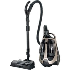 Super MultiChamber Canister Vacuum System with 15 In. PowerBrush and Mini Turbo Brush