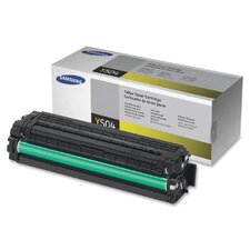 CLTY504S Toner Cartridge, 1800 Page Yield, Yellow