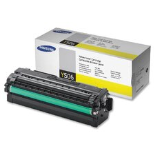 CLTY506L Toner Cartridge, 3500 Page Yield, Yellow