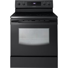 <strong>Samsung</strong> 5.9 Cu. Ft. Freestanding Smoothtop Electric Range