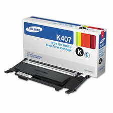 CLTK407S Laser Toner Cartridge, 1500 Page Yield, Black