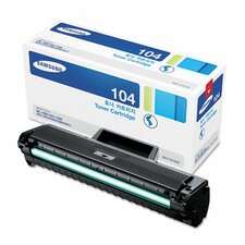 D104S Laser Toner Cartridge, 1500-Page Yield, Black