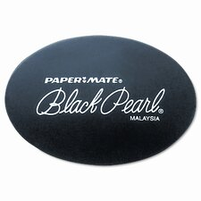 Black Pearl Eraser, Two Per Pack