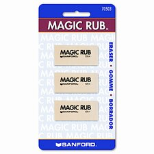 Prismacolor Magic Rub Art Eraser, 3/Pack