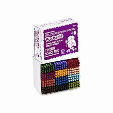 Fiddle Sticks Washable Markers, Fine Point, 18 Colors, 216/pack