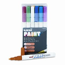 Uni-Paint Markers, 12/Set