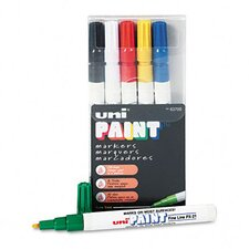 <strong>Sanford Ink Corporation</strong> Uni-Paint Markers, 6/Set