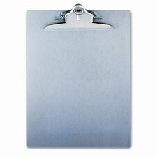 Aluminum Clipboard with High-Capacity Clip