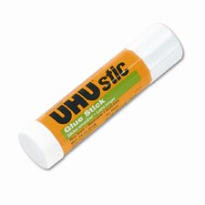 UHU Stic Permanent Clear Application Glue Stick, .74oz.