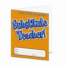 Substitute Teacher Essential Laminated Folder