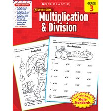 <strong>Scholastic</strong> Scholastic Success Multiplication