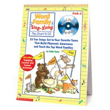 Word Family Sing-along Flip Chart &