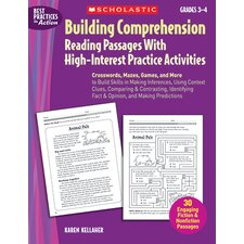 Building Comprehension Reading
