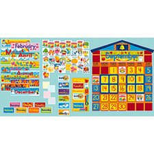 <strong>Scholastic</strong> Bb Set School House Calendar