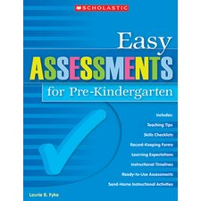 <strong>Scholastic</strong> Easy Assessments For Pk