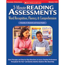 3 Minute Reading Assessments Word