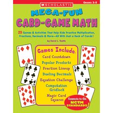 <strong>Scholastic</strong> Mega Fun Card Game Math Grs 3-5