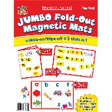 Jumbo Fold-out Magnetic Mats Setof5