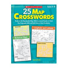 25 Map Crosswords