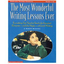 The Most Wonderful Writing Lessons