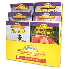 <strong>Scholastic</strong> Science Vocabulary Readers: Wild Weather, 36 Books/Six Titles And Teaching Guide