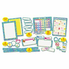 <strong>Scholastic</strong> Super Funky 108-Piece Classroom Decoration Kit