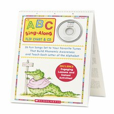 ABC Sing-Along Flip Chart with CD