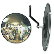 "<strong>See-All Industries</strong> 160 Degree Convex Security Mirror, 18"" Dia."