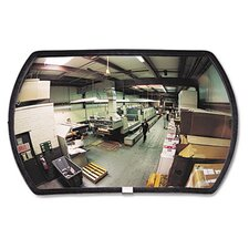 "160 Degree Convex Security Mirror, 18"" W X 12"" H"