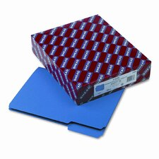 Interior 1/3 Cut Top Tab File Folders, Letter, 100/Box