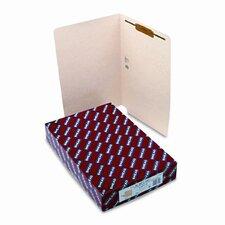 One Fastener End Tab 11 Point Heavyweight Folders, Legal, 50/Box