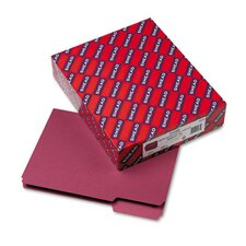 <strong>Smead Manufacturing Company</strong> Interior 1/3 Cut Top Tab File Folders, Letter, 100/Box