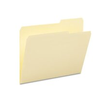 2/5 Cut Right Top Tab Guide Height File Folders, 100/Box