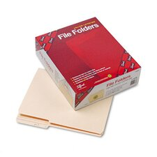 Two-Ply Top Tab Guide Height File Folders, 100/Box