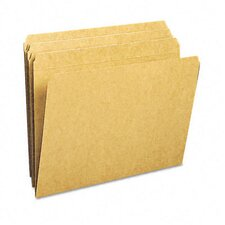 <strong>Smead Manufacturing Company</strong> Straight Cut Reinforced Top Tab File Folders, Letter, 100/Box