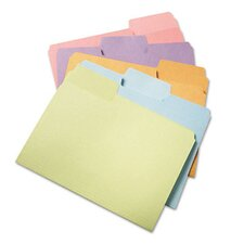 Supertab File Folders, 1/3 Cut Top Tab, Letter, 100/Box