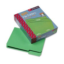 1/3 Cut Top Tab File Folders, Letter, 100/Box