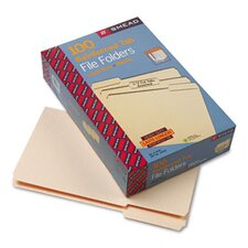 1/3 Cut Assorted File Folders, 100/Box