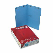 <strong>Smead Manufacturing Company</strong> Two Fasteners 1/3 Cut Assorted Top Tab Folders, 50/Box