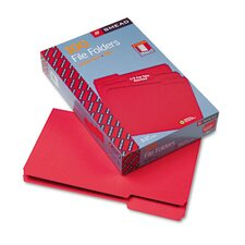1/3 Cut File Folders, Legal, 100/Box