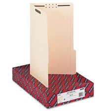Two Fasteners 1/3 Cut Third Position Folder, 50/Box