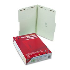 2/5 Top Tab Fastener Folder, 25/Box