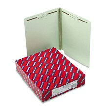 Two Fasteners End Tab Three Inch Expansion Folder, 25/Box