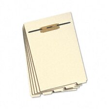 <strong>Smead Manufacturing Company</strong> Stackable End Tab Folder Dividers with Fastener, Letter, 10 Sets/Pack