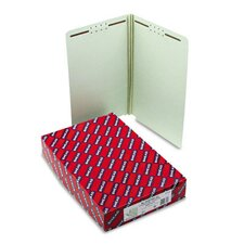 Two Fasteners End Tab Two Inch Expansion Folder, Legal, 25/Box