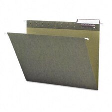 11 Point Stock Hanging Folders, 1/3 Tab, 25/Box