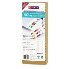 Smartstrip Refill Label Kit, 250 Label Forms/Pack, Laser