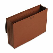 5.25 Inch Accordion Expansion Wallet, Redrope