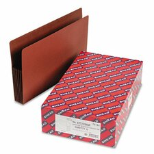 "5.25"" Accordion Expansion Drop Front File Pockets, 10/Box"